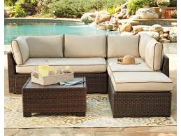 signature design by loughran outdoor sectional set with