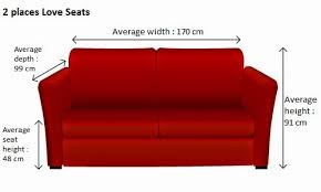 average height of couch seat what dimensions for your sofa sofabulous