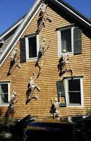 homes decorated for halloween the 13 best diy halloween decorations ever posable skeleton diy