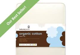 Naturepedic No Compromise Organic Cotton Classic 150 Crib Mattress Naturepedic Organic Cotton Classic 150 Traditional Crib Mattress