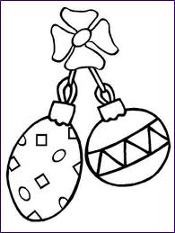 printable christmas tree ornaments coloring pages design ideas