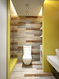 College Bathroom Ideas Colors Wood Accent Wall Designs Add Shapes And Textures As An Accent