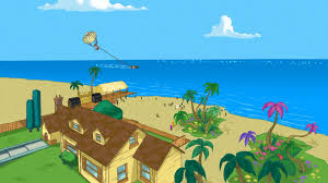 Backyard Cartoon Backyard Beach Phineas And Ferb Wiki Fandom Powered By Wikia