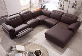 Contemporary Reclining Sectional Sofa Customized Modern Reclining Sectional Sofas Apoc By