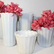 best milk glass flower vase products on wanelo