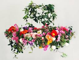 wedding flowers ayrshire awd diy beautiful floral chandelier by paper and lace ayrshire
