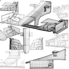 ferrari front drawing ferrari sf15t front wing 3d model cgstudio