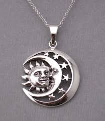 star drop necklace images 9 best celestial sun moon necklaces images moon jpg
