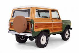 ford bronco this 1974 ford bronco has been restored with real wood paneling