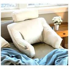 sit up in bed pillow sitting pillows for bed cushion with arms rest pillow up reading