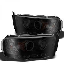 02 dodge ram headlights spyder 2002 2005 dodge ram 1500 headlights