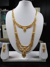 long double necklace images Designer gold forming necklace designer gold forming necklace jpeg