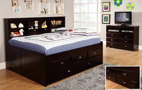 discovery world furniture espresso full captain day beds u2013 kfs stores