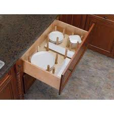 rev a shelf plate racks kitchen cabinet organizers the home