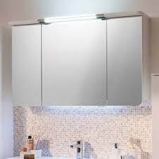 bathroom mirror cabinet cassca bathroom mirror cabinet 3 doors lighting with shaver socket