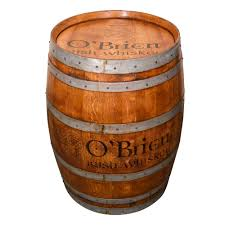 whiskey barrel and old world pub furniture