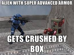 Funny Halo Memes - teamwork halo pinterest teamwork red vs blue and video games