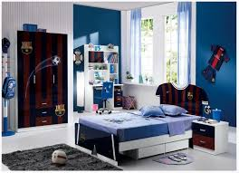 boys bedroom decor cool boys bedroom decoration with fc barcelona theme home design ideas