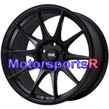 98 mustang cobra wheels 18 xxr 527 flat black rims wheels staggered concave 98 04 ford