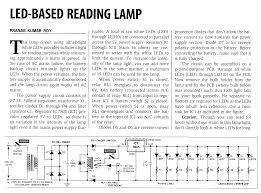 component led bulb circuit design emergency lights powerful