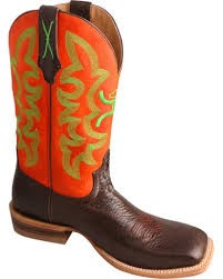twisted x s boots hooey by twisted x s neon square toe boots boot barn