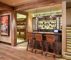 distinguished rustic home bar designs for when you really