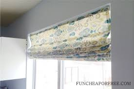 Homemade Curtains Without Sewing Easy Diy No Sew Roman Shades Fun Cheap Or Free