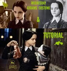 Wednesday Addams Costume Wednesday Addams Costume U0026 Tutorial Youtube