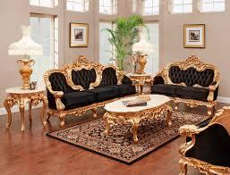 French Provincial Sofa Table Black Velvet Provincial Model 6381 Provincial