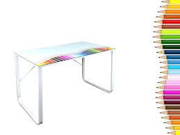 plateau de bureau en verre sérigraphié plateau de bureau en verre bureau plateau plateau bureau bureau pas
