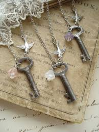 antique silver key necklace images 82 best wrapping keys images key fobs key pendant jpg