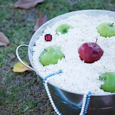 halloween game party ideas dig for apples at your own risk disney family apples and birthdays
