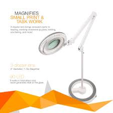 Magnifier Floor Lamp Brightech Store Lightview Pro Dimmable Led Magnifier Floor Lamp