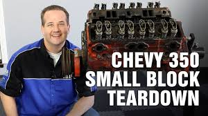 how to tear down chevy 350 small block engine motorz 63 youtube