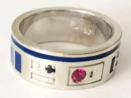r2d2 wedding ring r2d2 ring proves jewelry can be sweeter second time around chris