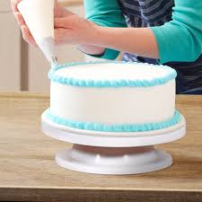 rotating cake stand review ohuhu cake turntable revolving cake decorating stand cake