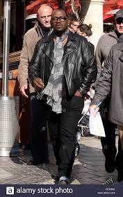 black leather motorcycle jacket randy jackson is seen in a black leather motorcycle jacket while