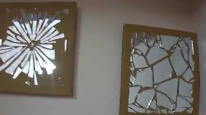 Diy Paintings For Home Decor 15 Diy Wall Decor Mirror Mosaic Youtube