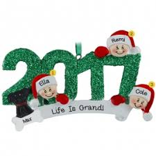 grandparents with 3 grandkids ornaments ornaments for you