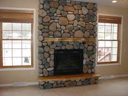 Fancy Fireplace by Innenarchitektur River Rock Fireplace Designs Beautiful Home