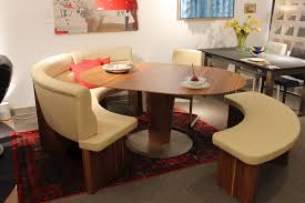 Curved Banquette Curved Banquette For Round Table Wonderful Design Of Curved