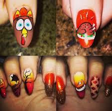 nail designs thanksgiving nails nail it