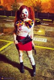 Scary Girls Halloween Costumes Killer Clown Girls Costume Spirithalloween Halloween Ideas