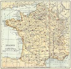 Orleans France Map by Map Of Cathedrals In France 1910