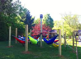 Hammock Backyard Johnson City U0027s First Student Hammock Lounge Eno Eagles Nest
