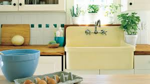 pictures of farmhouse sinks farmhouse sinks with vintage charm southern living