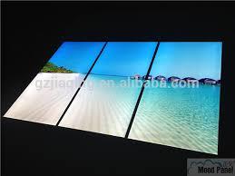 led light wall panels virtual window ocean led wall panel light buy virtual window led