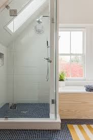 under eaves shower idea for upstairs home bathroom pinterest