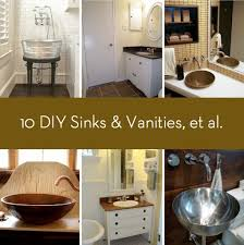 convert pedestal sink to vanity roundup 10 diy sinks and vanities and a tub and shower too curbly