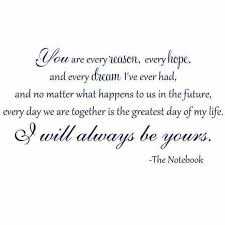 simple wedding quotes you are always will be my everything the better half of me
